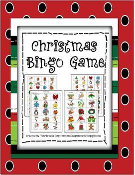 25+ best ideas about christmas bingo game on pinterest