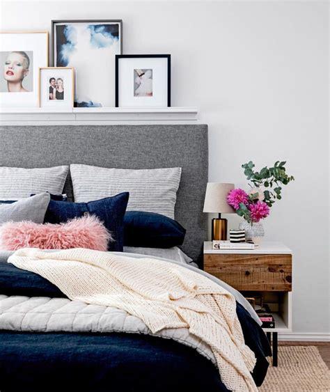 navy  gray combination  bedroom bedroom pinterest bedrooms shelves  apartments