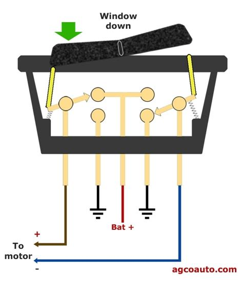 power window switch wiring diagram wiring diagram and