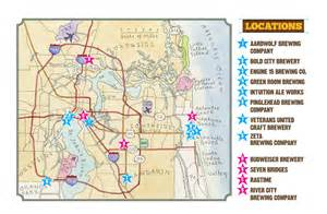 florida breweries map jax ale trail craft in jacksonville fl visit