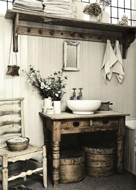 32 cozy and relaxing farmhouse bathroom designs digsdigs