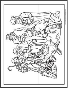 how to make a coloring book 15 printable coloring pages jesus