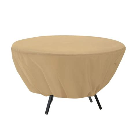 Classic Accessories Terrazzo Round Patio Table Cover 58202 Patio Table Cover