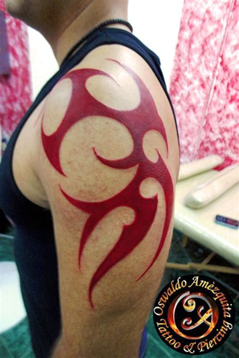 red tribal tattoos tribal best galery ii