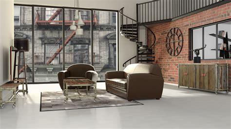 Chambre Industrielle Ado by Chambre Ado Style Industriel
