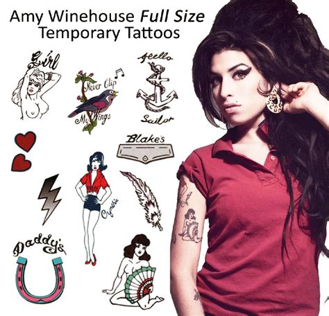 amazon tattoos winehouse free pictures