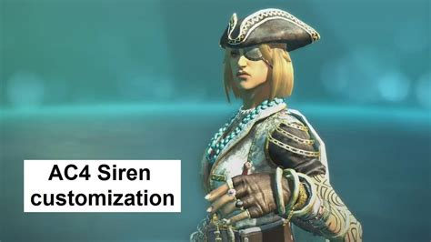 ac4 siren customization costumes gear prestige 60k outfit ac4 multiplayer characters guild of