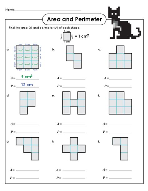 area and perimeter worksheets easy perimeter worksheets search results calendar 2015