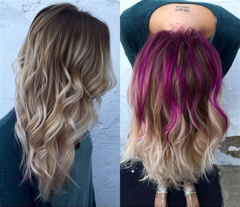 hairstyles peekaboo highlights best 25 peekaboo hair colors ideas on pinterest