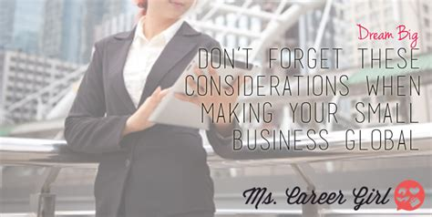 dont forget the small companies don t forget these considerations when your small