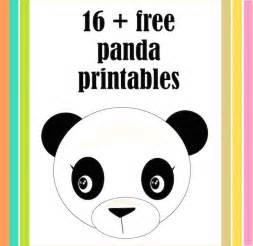 panda print outs 21 free printable panda gifts cards and toys