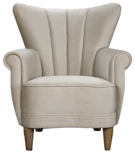 Armchairs Sydney by Franchette Armchair By Uttermost Transitional
