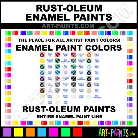 rustoleum spray paint color chart oregano color chart rustoleum rust oleum enamel paint color