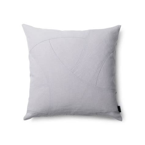 kissen grau the flow cushion from by lassen in the interior design shop