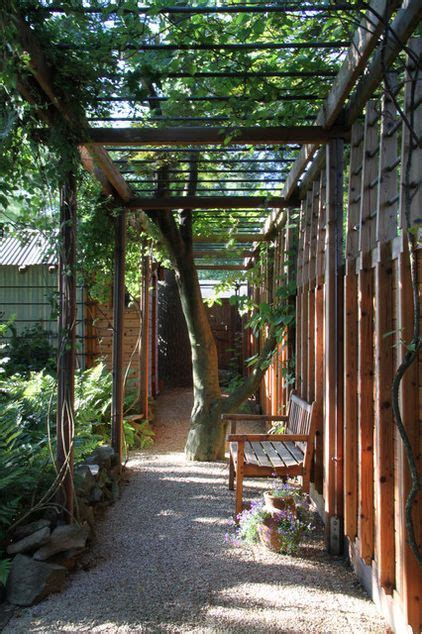 modern landscape  princeton design collaborative wood