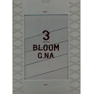 Cd G Na Mini Album Bloom 3rd mini album bloom g na hmv books dk0705