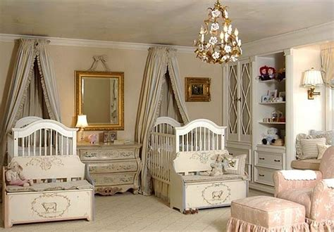 cute twin baby nursery designs