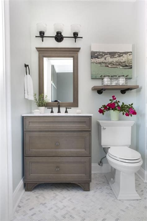 Guest Bathroom Reveal Small Guest Bathrooms Marble Guest Bathroom Vanities