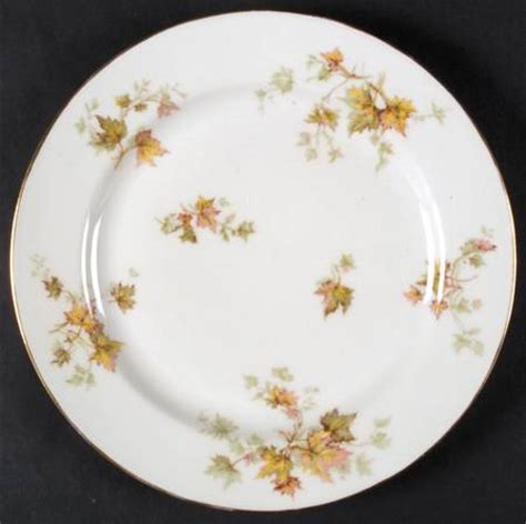 leaf pattern dishes haviland autumn leaf smooth gold trim at replacements