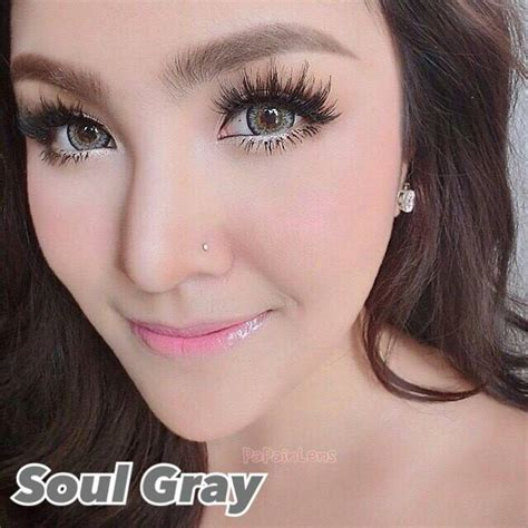 Black Lens Softlens Dreamcolor softlens dreamcolor soul grey 14 5mm softlens