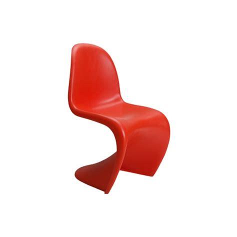 panton stacking chair orange formdecor
