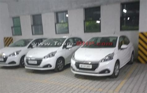 peugeot india peugeot hatchback spotted in india to rival maruti swift