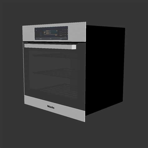 Oven Miele miele h5881bp oven 3d model max cgtrader