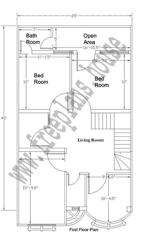 25 215 40 92 square meter house plan