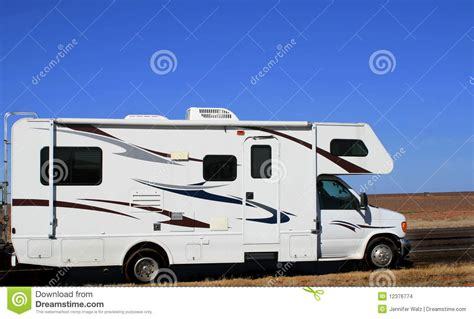 Road Recreational Vehicles by Recreational Vehicle Southwestern Road Trip Stock Images