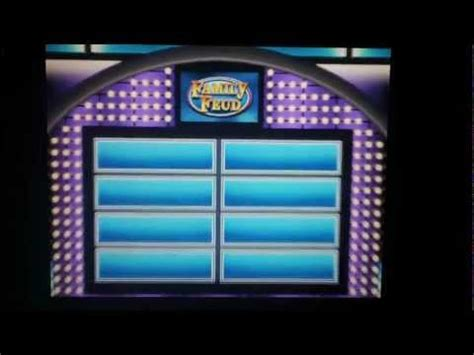 Family Feud Template Powerpoint Free Family Feud Template Free