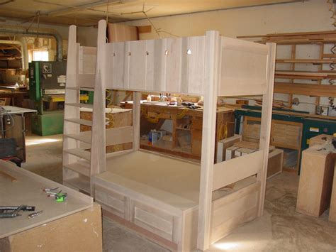 Custom Bunk Bed How To Build Custom Bunk Beds Pdf Plans