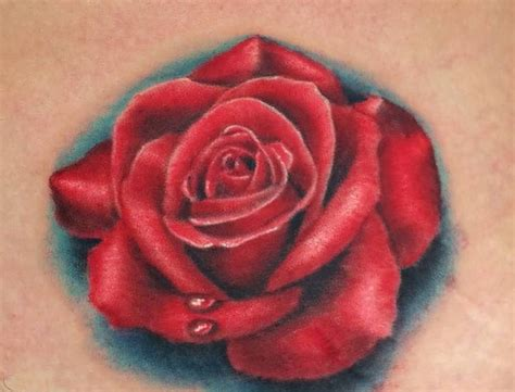 realistic rose tattoo designs 60 pictures of terrific golfian
