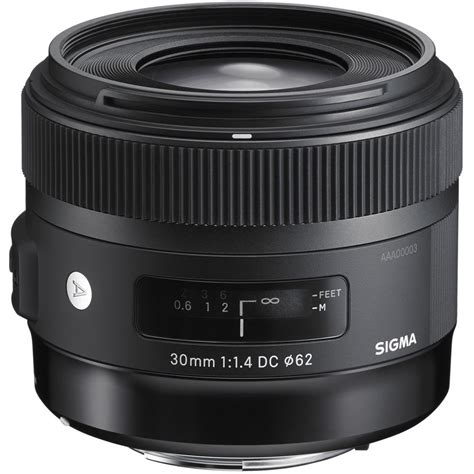Sigma Lens For Canon sigma 30mm f 1 4 dc hsm lens for canon 301 101 b h photo