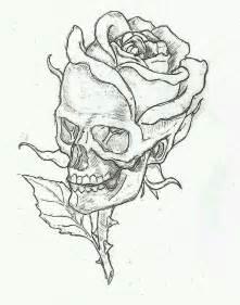Single Rose Bud Vase 17 Best Ideas About Skull Rose Tattoos On Pinterest