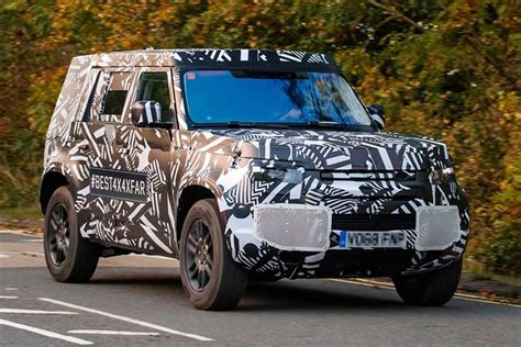 New Land Rover Defender 2020 by 2020 Land Rover Defender Replacement Breaks Cover