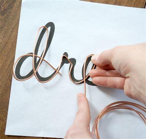 wire crafts diy diy wire word tutorial via year of serendipity craft tutorials