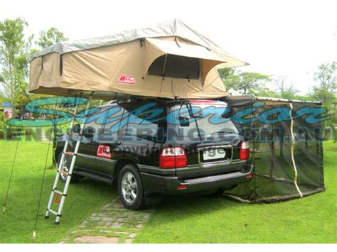 4x4 Tents And Awnings by Mcc 4x4 Rooftop Tent And Annexe Superior Engineering