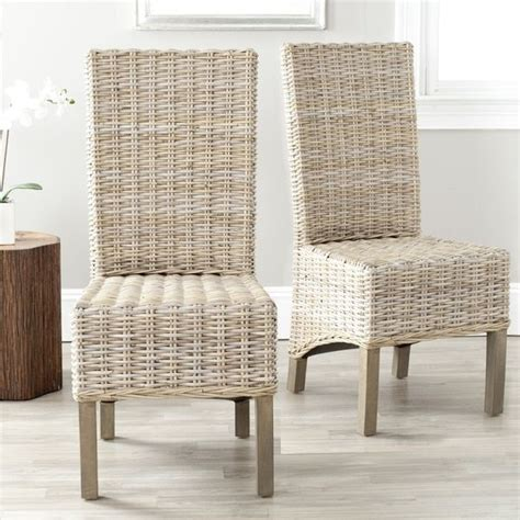 Rattan Dining Room Sets by Best 25 Wicker Dining Chairs Ideas On Pinterest Wicker