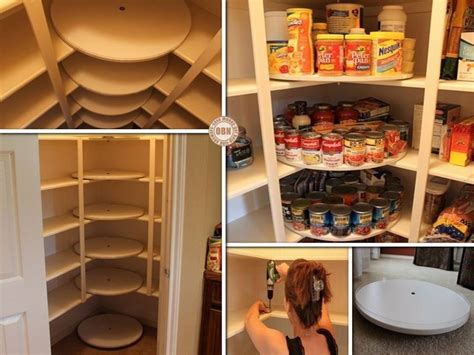 Pantry Lazy Susan Turntable by Diy Great Lazy Susan Pantry Makeover