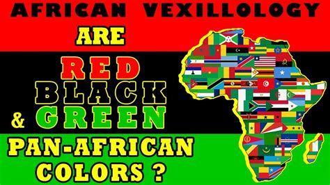 pan colors vexillology are black and green pan