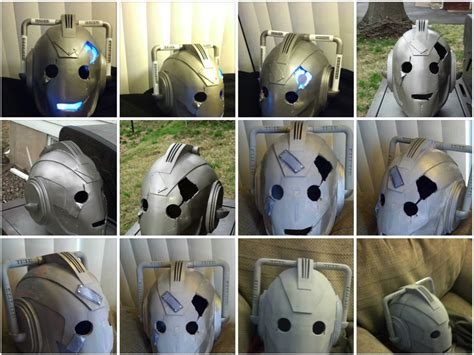 doctor who diy projects from the forums doctor who cyberman handles project