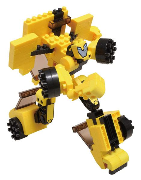 Micro Block Transformer Bumble Bee block optimus prime bumblebee transformers news