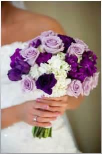 Purple rose wedding bouquets wedding flowers purple roses bouquetr