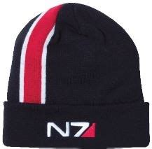 Topi Snapback Mass Effect mass effect andromeda beanie n7 stripe gamestop de power to the players