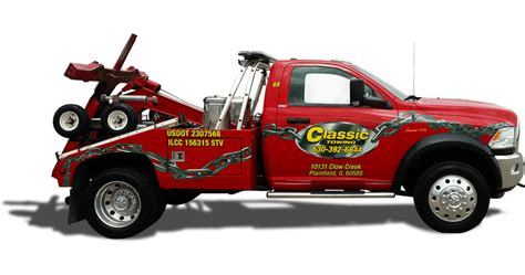 24 hour towing service near me classic towing towing il roadside assistance
