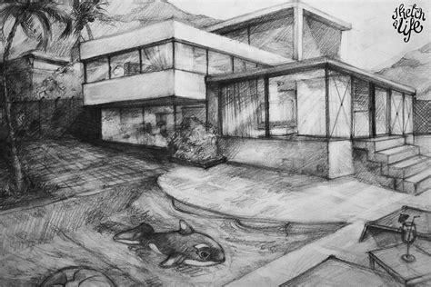 houses drawings easy house drawings in pencil modern house