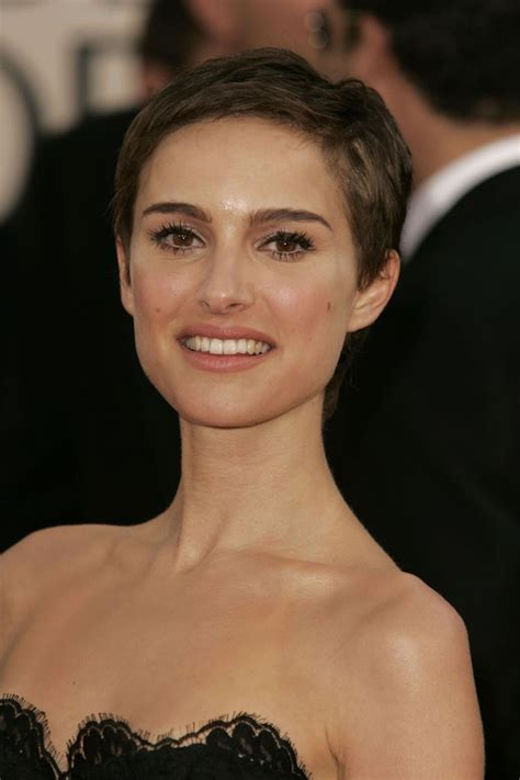 best hairstyle for small head best 25 natalie portman shaved head ideas on pinterest