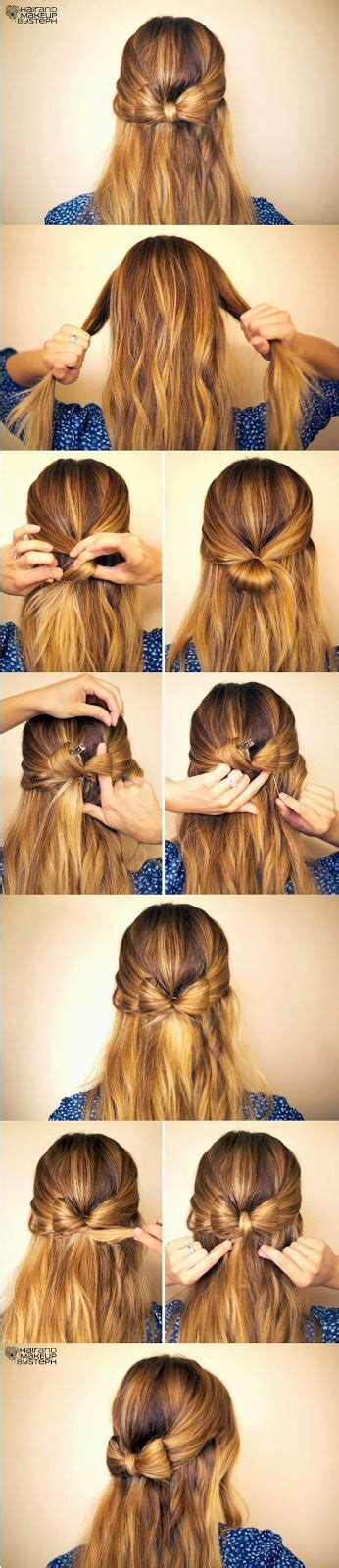 quick and easy hairstyles step by step diy hair tutorails 5 simple but cute and quick