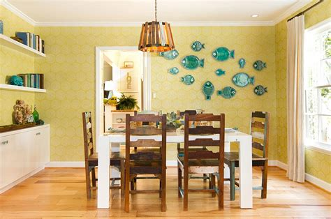 yellow dining room ideas yellow and blue interiors living rooms bedrooms kitchens