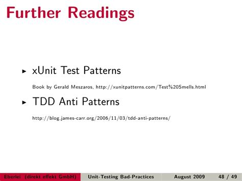 singleton pattern and unit testing unit testing bad practices by exle